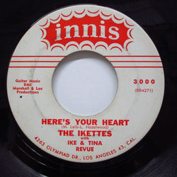 IKETTES - Here's Your Heart (Vo.&Inst.) (Orig)