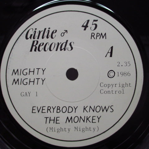 "MIGHTY MIGHTY - Everybody Knows The Monkey (UK Orig.7"")"