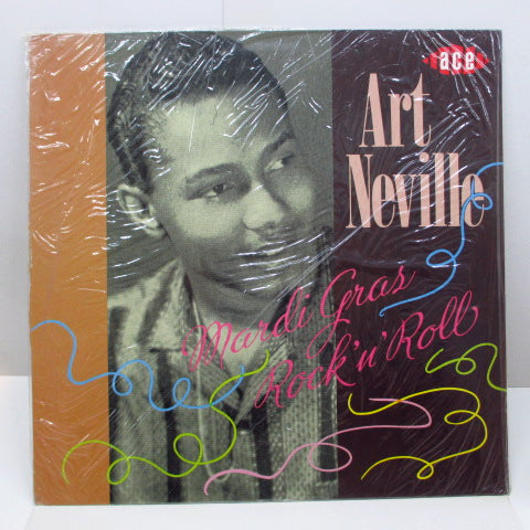 ART NEVILLE - Mardi Gras Rock 'n' Roll (UK-EEC Orig.)