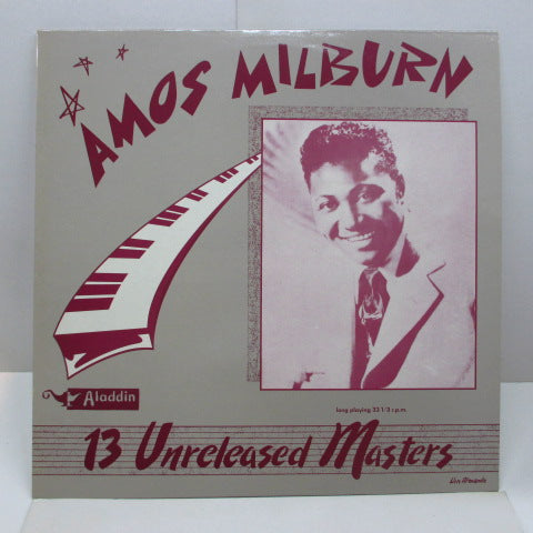 AMOS MILBURN - 13 Unreleased Masters (FRANCE Orig.)