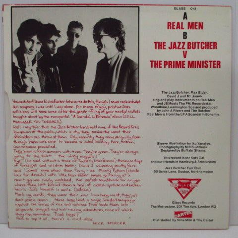 "JAZZ BUTCHER, THE - Real Men (UK Orig.7"")"