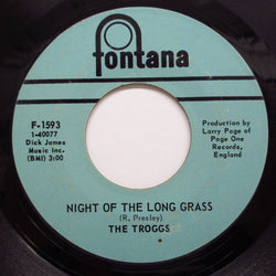 TROGGS - Night Of The Long Grass (US:Orig.)
