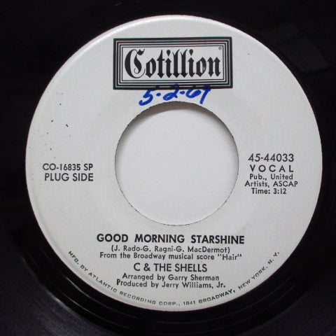 C & THE SHELLS - Good Morning Starshine