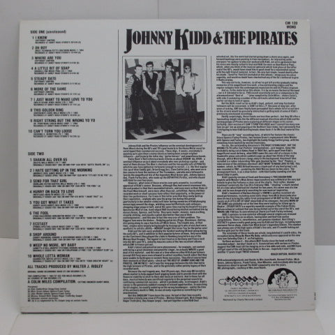 JOHNNY KIDD & THE PIRATES - Rarities (UK Orig.)