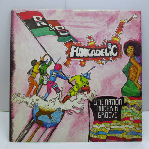 "FUNKADELIC - One Nation Under A Groove (UK Orig.+Bonus 12"")"