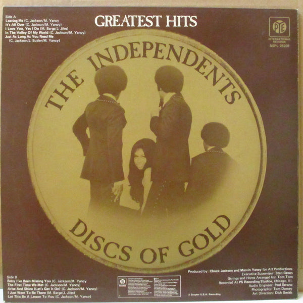 INDEPENDENTS (インデペンデンツ)  - Discs Of Gold - Greatest Hits (UK Orig.LP)