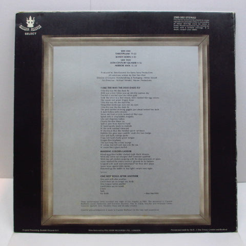 CAPTAIN BEEFHEART - Mirror Man (UK Orig./Die-Cut GS)