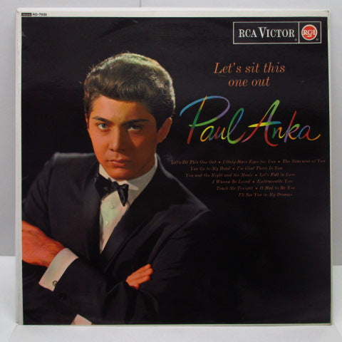 PAUL ANKA - Let's Sit This One Out (UK Orig/MONO)