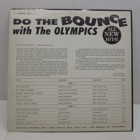 OLYMPICS - Do The Bounce (US:Orig.)