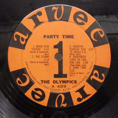 OLYMPICS - Party Time (US:Orig.)