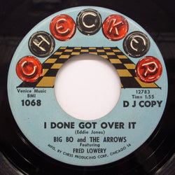 BIG BO & THE ARROWS(BIG BOB KORNEGAY) - I Done Got Over It (Circle Logo Promo)