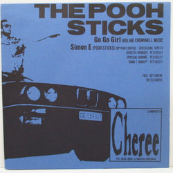 "POOH STICKS, THE - Go Go Girl (UK Orig.FLEXI 7"")"