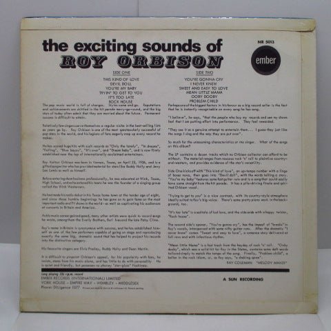 ROY ORBISON - The Exciting Sounds Of (UK Orig.Mono/CFS)