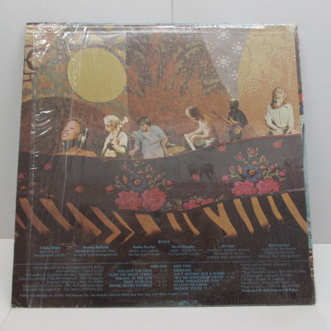 RUFUS (FEATURING CHAKA KHAN)-Rags To Rufus (US Orig.)