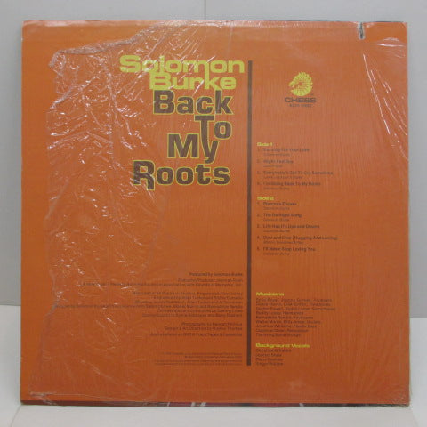 SOLOMON BURKE - Back To My Roots (US:Orig.)