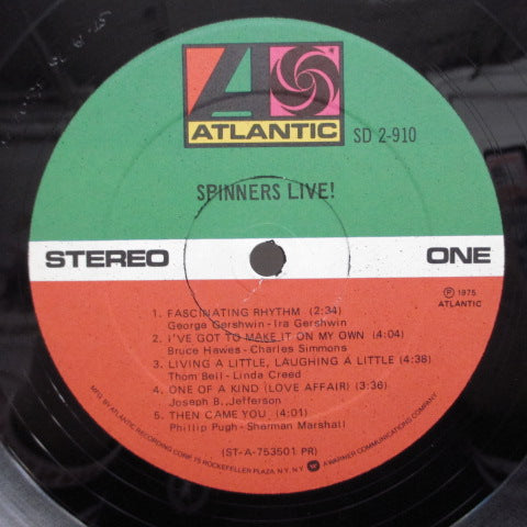 SPINNERS - Spinners Live ! (US:Orig.2LP)