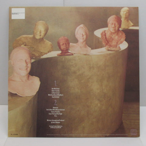 STEVIE WONDER - Characters (US:BMG Record Club LP)