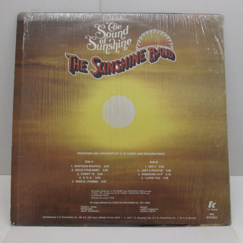 SUNSHINE BAND (KC AND THE SUNSHINE BAND)-The Sound Of Sunshine (US: Orig.)