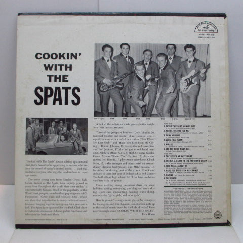 SPATS - Cookin' With The Spats (US Promo Mono LP)