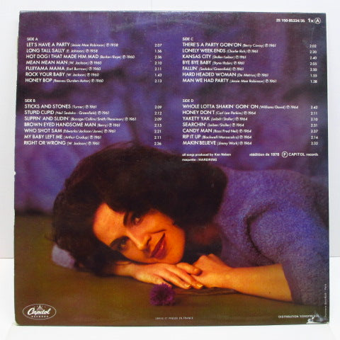 WANDA JACKSON - Only Rock'N'Roll (France Orig.2xLP/CGS)※Purple Label