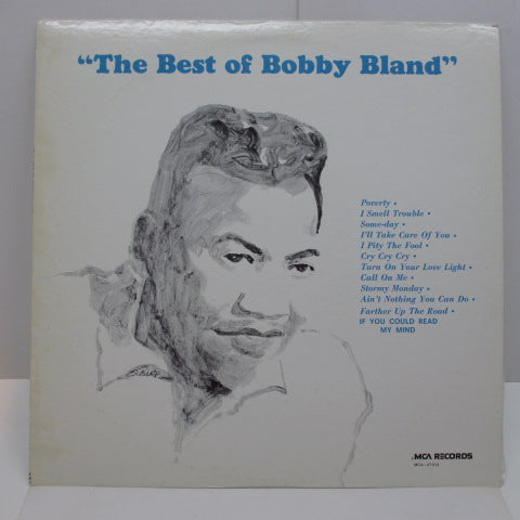 BOBBY BLAND - The Best Of Bobby Bland (US:80's Re)