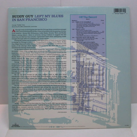 BUDDY GUY - Left My Blues In San Francisco (US '87 Re LP/LP/)
