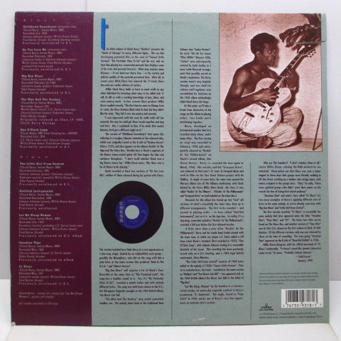 CHUCK BERRY - Missing Berries, Rarities, Volume 3 (US Orig.LP)