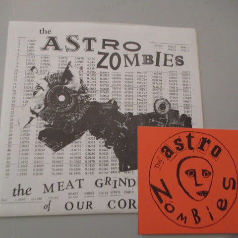 "ASTRO ZOMBIES, THE - The Meat Grinder Of Our Corruption (US Orig.7"")"