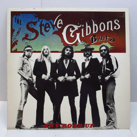 STEVE GIBBONS BAND - Any Road Up (UK Orig.No CS)