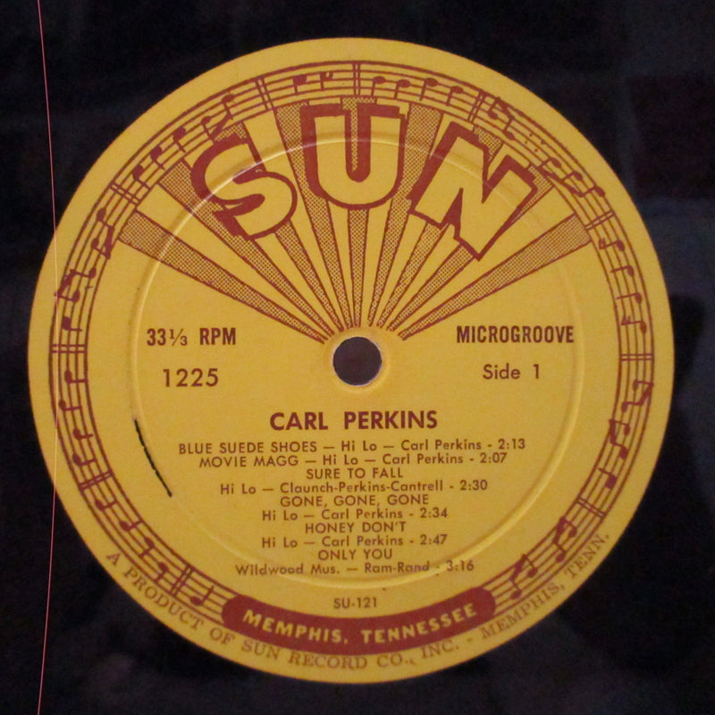 CARL PERKINS (カール・パーキンス)  - Dance Album Of Carl Perkins (US Orig.Mono LP)