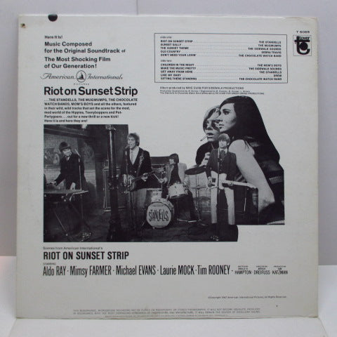 O.S.T. - Riot On Sunset Strip (US Orig.Mono LP)