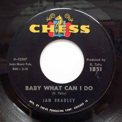JAN BRADLEY - Baby, What Can I Do (Orig)