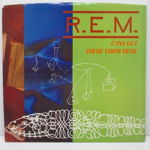 "R.E.M. - Can't Get There From Here (US Orig.7"")"
