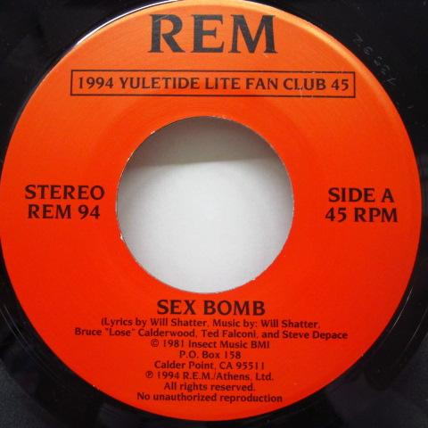 "R.E.M. - 1994 Yuletide Lite Fan Club 45 (US Ltd.7""/Red PS)"