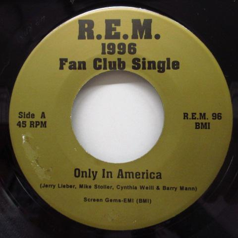 "R.E.M. - 1996 Fan Club Single (US Ltd.7""/Blue PS)"