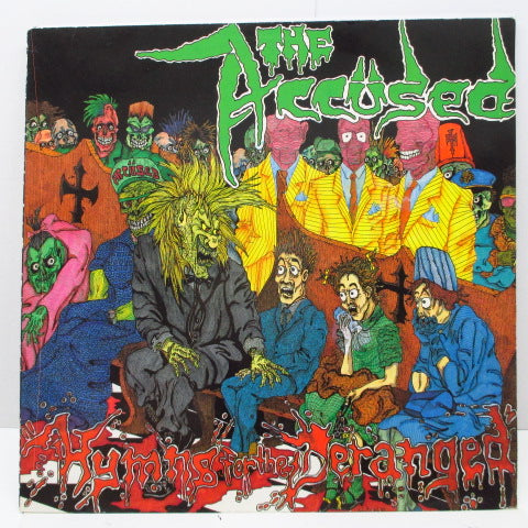 ACCUSED, THE - Hymns For The Deranged (German Ltd. Blue LP)