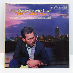 CHET ATKINS - From Nashville With Love (UK Orig.Stereo LP/CS)