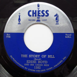 EDDIE BOYD - The Story Of Bill / Please Help Me