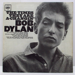 BOB DYLAN - The Times They Are A-Changin' (UK Orig.Mono LP/CS)
