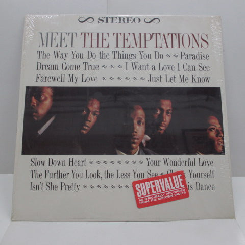 TEMPTATIONS - Meet The Temptations (US 80's Reissue STEREO)