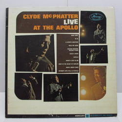 CLYDE McPHATTER - Live At The Apollo (US:Orig.MONO)