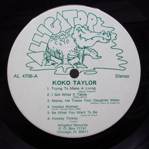 KOKO TAYLOR-I Got What It Takes (US '75 Orig.White Lbl./Cream CVR)