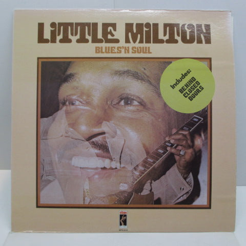 LITTLE MILTON - Blues 'n' Soul (US:80's Re)