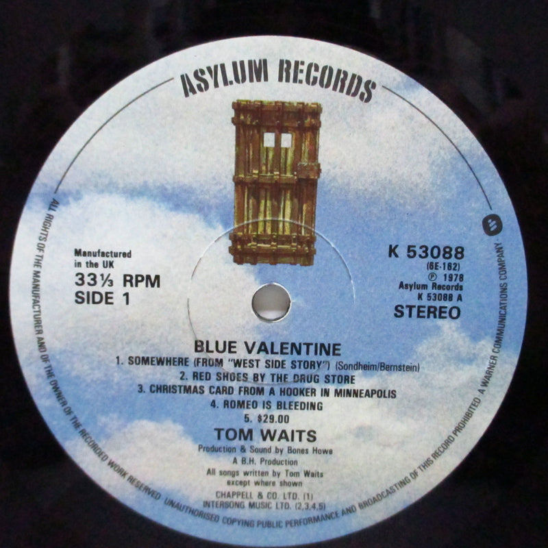 TOM WAITS - Blue Valentine (UK Orig.LP/GS)
