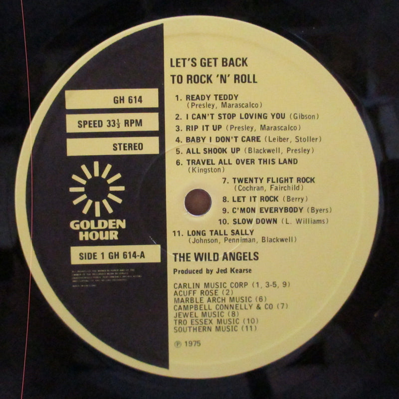 WILD ANGELS (ワイルド・エンジェルス)  - Let's Get Back To R&R (UK Orig.LP/Embossed CVR