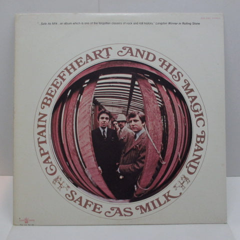 CAPTAIN BEEFHEART - Safe As Milk (US:'70 2nd Press)