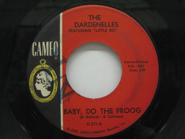 DARDENELLES feat. LITTLE BO - Baby, Do The Froog / Alright (Orig.)