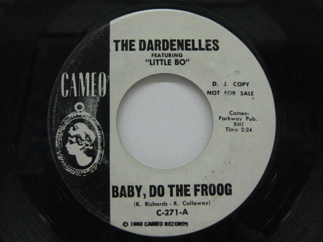 DARDENELLES feat. LITTLE BO - Baby, Do The Froog / Alright (Promo)