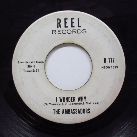 AMBASSADORS - I Wonder Why (Promo / Reel-117)