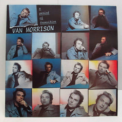 VAN MORRISON - A Period Of Transition (UK 80's Polydor Reissue LP)